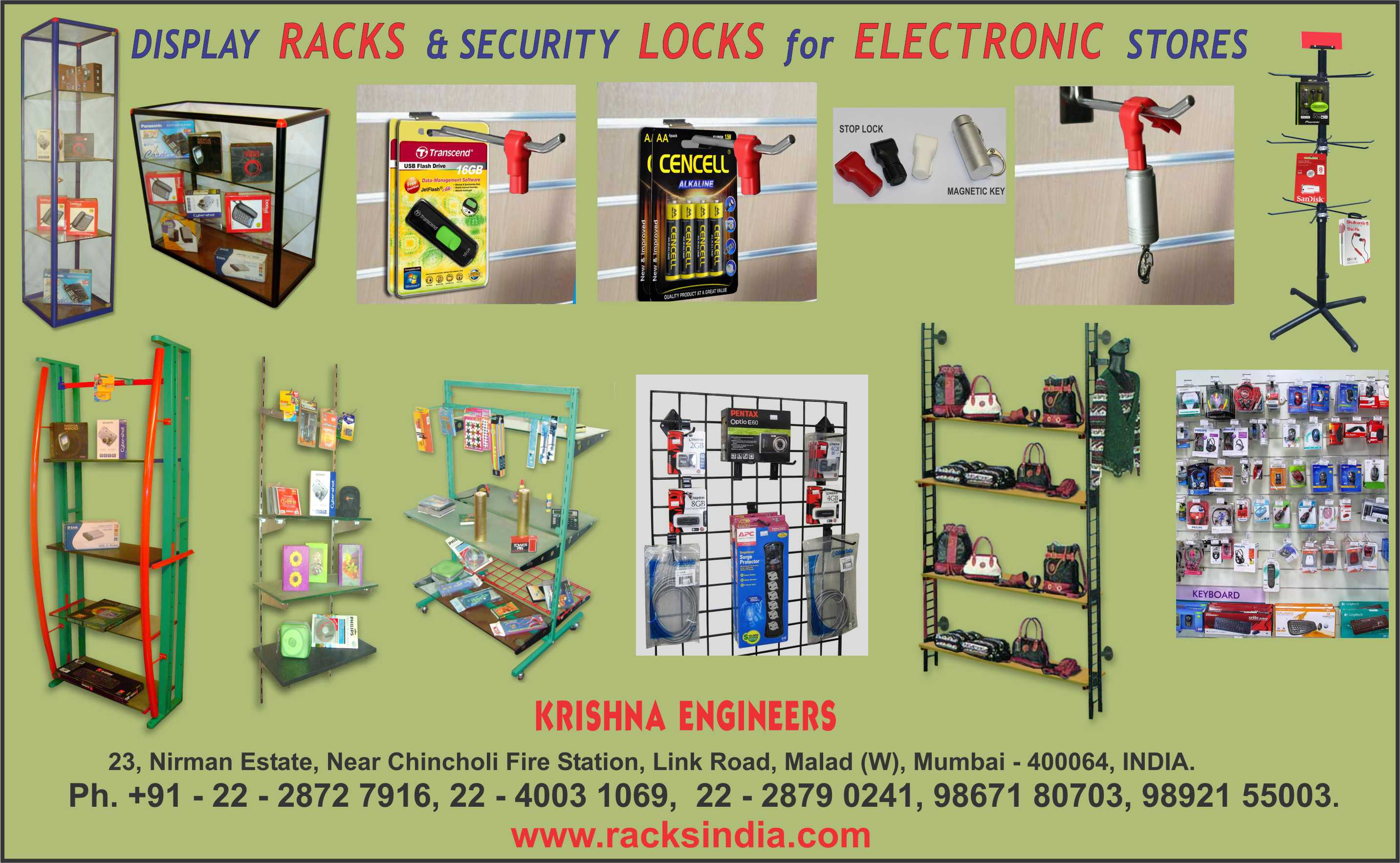 Ideal Display Racks in Mumbai, About Company We Krishna Engineers are  WF93