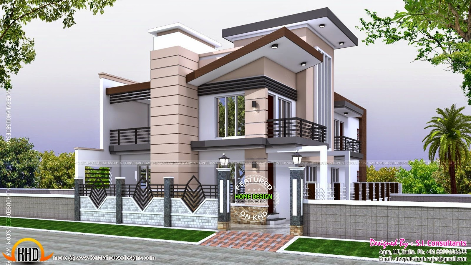 30 50 house front design for 30 x70 house plans