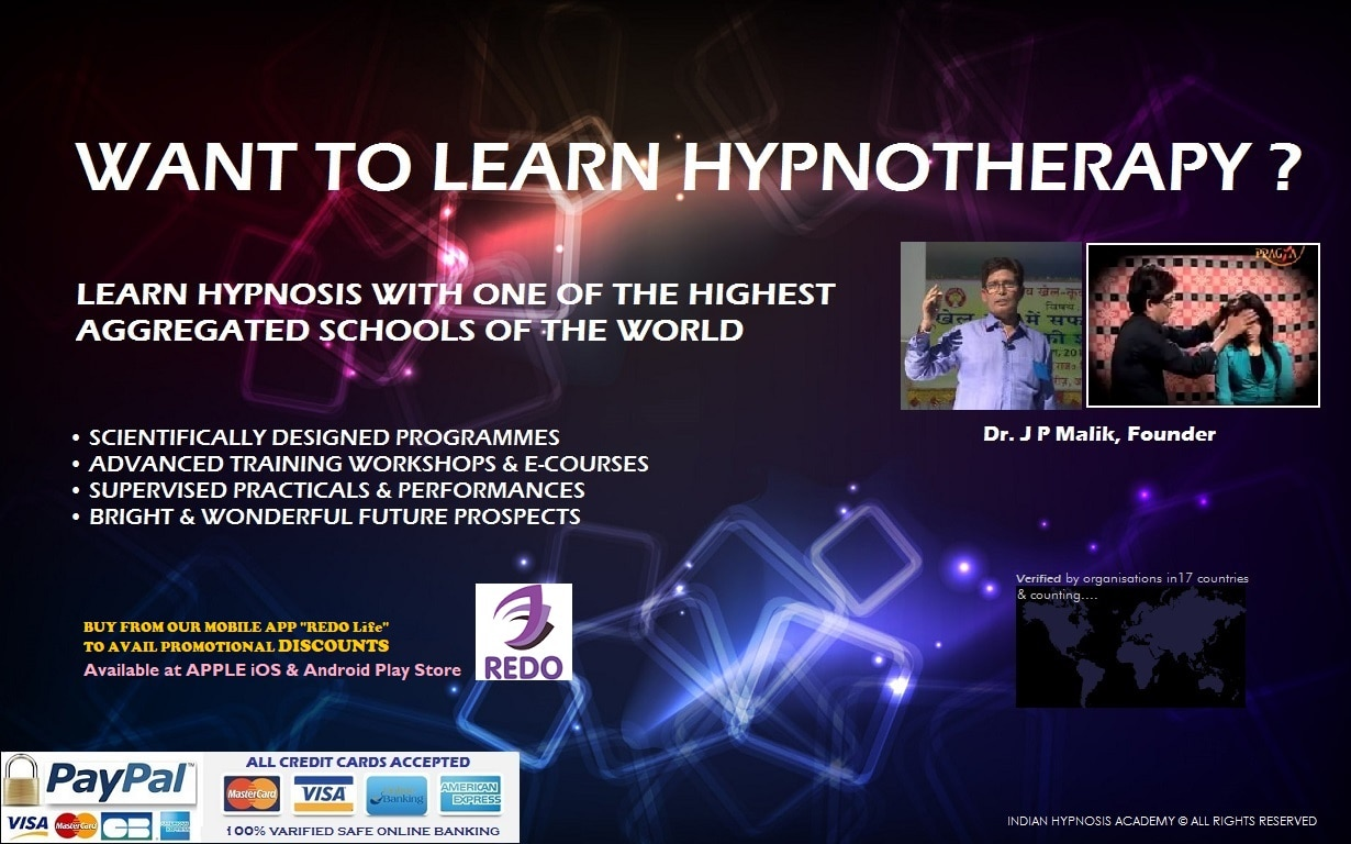 hypnosis academy | Indian Hypnosis Academy in New Delhi, India