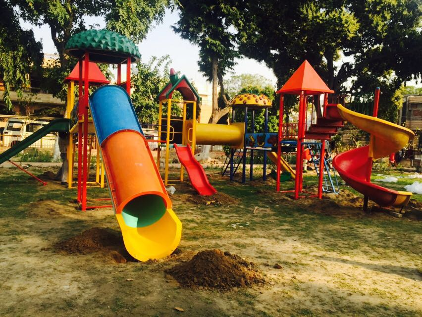 We are the leading manufacturer of playground equi