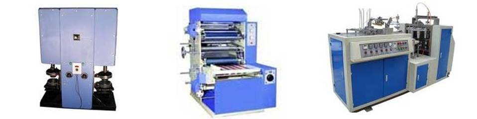 With our firm determination to develop progressive Paper Converting Machinery, we, Shreeram Industries is a prominent Manufacturer, Exporter, Trader and Supplier in the field. Our top-notch range consists of Paper Plate Making Machine, Paper Cup Making Machine, Paper Cutting Machine, Paper Dish Making Machine, Paper Lamination Machine. All these machines are developed & designed with the use of advanced technology and methodology. We make sure to effective use of high grade components and material in the manufacturing of the machines. Further, our team professionals keep up with the rising norms of the market and adopt industry set guidelines in the production processes. They strive more to attain a high level of customer satisfaction, and therefore include all the mutual and said requirements of the clients in manufacturing procedures. Our offered machines are used a lot more in paper converting industry, owing to their superior features such as robust design, compactness, high-performance, easy and effective usage and maximum production rate.  Moreover, with the aid of our sound & sophisticated manufacturing facility, we assure to qualitative as well as efficient production of the products. We are well supported with advanced, core and capable technology, for that reason our products ensure to meet the exact norms of the industry. By providing sound and utmost quality Paper Converting Machinery to our clients in a limited span of time, we have earned a large clientele in the marketplace.  Why Us?  Transparent dealings Affordable prices Prompt delivery Client-centric approach Advanced manufacturing facility Quality Focus Devising premium quality Paper Cup Making Machine, Paper Dish Making Machine and Paper Plate Making Machine, we have set towering norms in the field. Our end-to-end tougher and sure quality checks ensure to superiority and competitiveness of the offered products. The quality checks are exercised by a team of versed and experienced quality experts, 