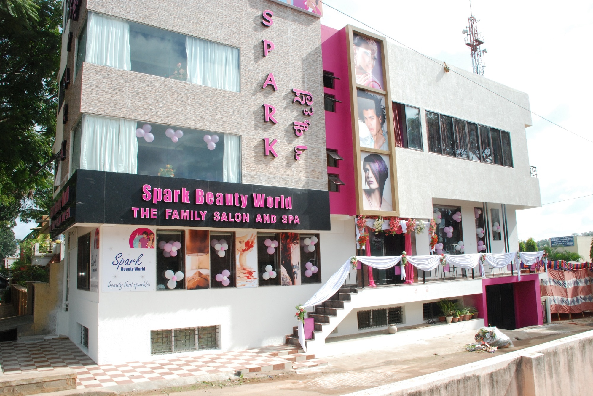 The Spark Beauty World Family Salon & Spa is Mysor